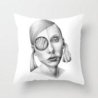 Grazia! Throw Pillow