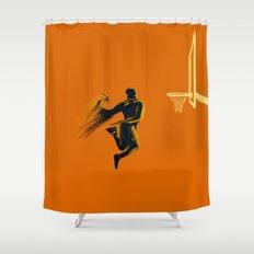 Basketball  Shower Curtain