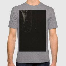 The Band Shadow Mens Fitted Tee Athletic Grey SMALL