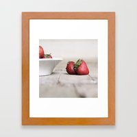 Flavor of the Summer Framed Art Print
