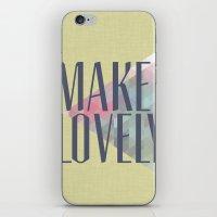 Make Lovely // Leaf iPhone & iPod Skin