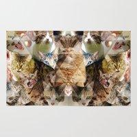 Cat Kaleidoscope Rug
