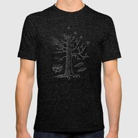The White Tree of Gondor Mens Fitted Tee Tri-Black SMALL