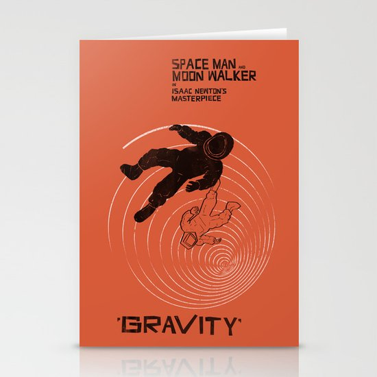 GRAVITY Stationery Card