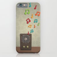 iPhone & iPod Case featuring Speak To Me With Music by Matt Andrews