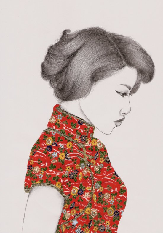 Paper Doll Canvas Print