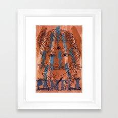 Pamela Skulz and her 'second sight' Framed Art Print
