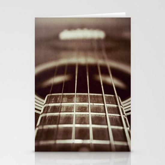 Strings  Stationery Card