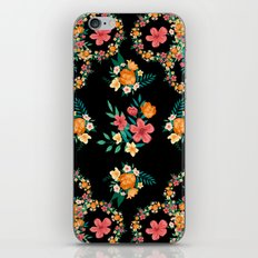 Abstract Floral Pattern iPhone & iPod Skin