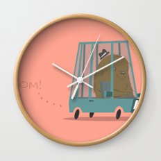 Vroom Wall Clock