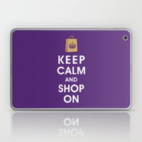 Keep Calm and Shop On Laptop & iPad Skin