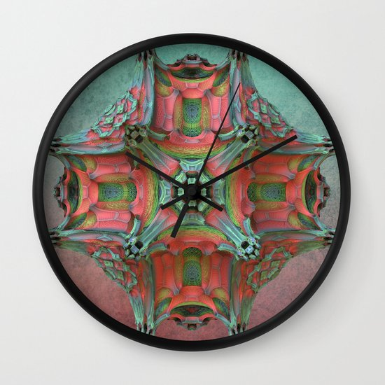 That Odd Flower Wall Clock