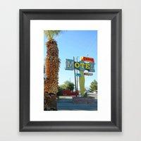 Desert OTE Framed Art Print