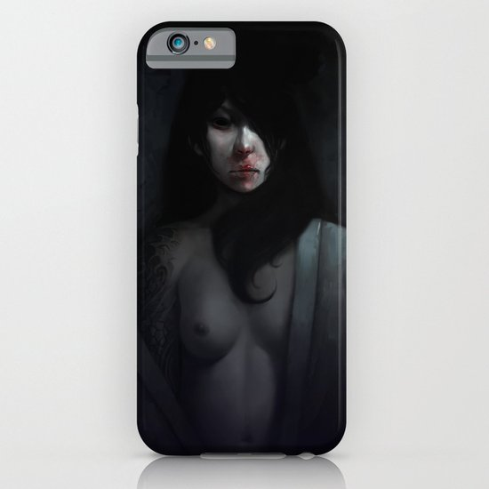 Portrait of Ikuko's Ghost iPhone & iPod Case