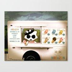 Ice Cream Delivery by NREAZON Canvas Print
