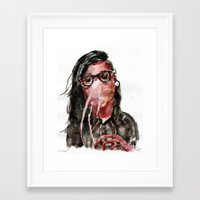 Krillex Framed Art Print