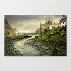 The Beck at Staithes Canvas Print