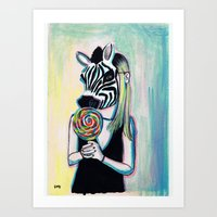 Jungle Candy Art Print