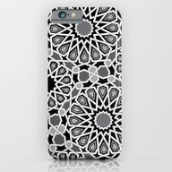 Black And White Moroccan… iPhone 6 Slim Case