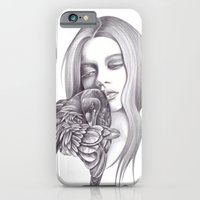 iPhone & iPod Case featuring Black Crow by Andrea Hrnjak