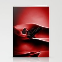 Abstract Nude 3 Stationery Cards