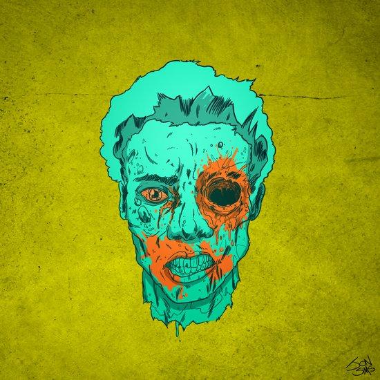 Zombie Thump! Art Print