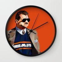 Geometric Ditka Wall Clock