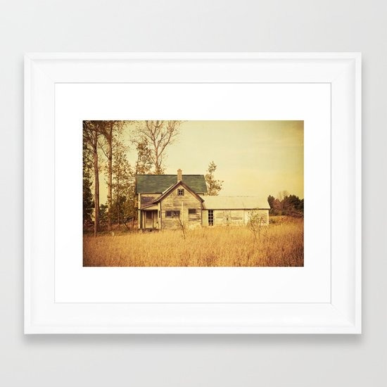 Lonely World Framed Art Print