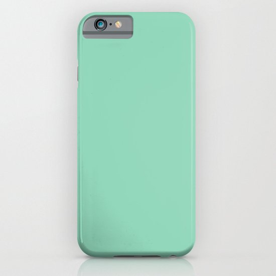 Mint Green iPhone & iPod Case