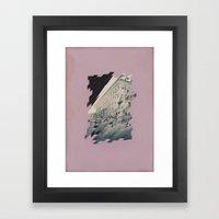 p a l a z z o s t r i s c i a t o Framed Art Print