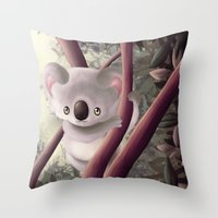 Kappa Koala Throw Pillow