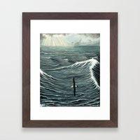 Oceanic Wanderer Framed Art Print