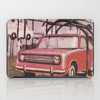 Conveying Cars iPad Case