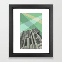 Robarts Library (University of Toronto) Framed Art Print