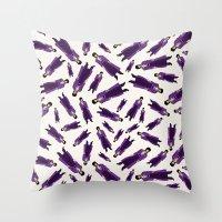 Prince - Purple Rain Pattern - Light Throw Pillow