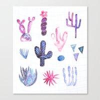 Pinata Cactus Canvas Print
