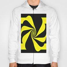 Abstract. Yellow+Black. Hoody