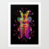 King Lur Art Print