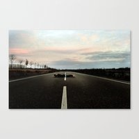 On The Road.... Canvas Print