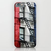 NYC Red White Blue iPhone 6 Slim Case