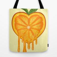 Love Orange Tote Bag