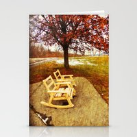 Come Sit, Stay Awhile... Stationery Cards