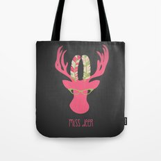 Miss Deer Tote Bag