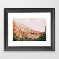 Zion National Park 2 Framed Art Print
