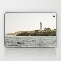 Lighthouse In Portland, … Laptop & iPad Skin