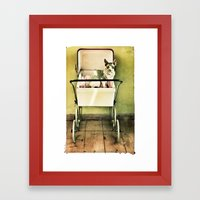Hell O Pretty Framed Art Print