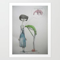 eureka ! Art Print