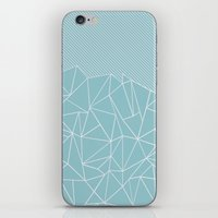 Ab Lines 45 Sea iPhone & iPod Skin