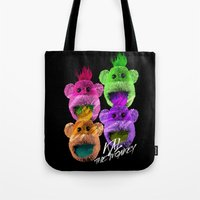 Kal the Monkey - Kal Warhol Tote Bag