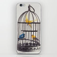 Bird Brained Babe iPhone & iPod Skin